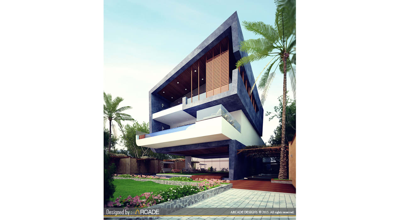 Houses by ARCADE DESIGNS,