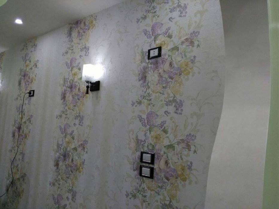 تشطيب شقة بالتجمع الخامس بالقاهرة الجديدة  مع شركة كاسل:  جدران تنفيذ كاسل للإستشارات الهندسية وأعمال الديكور في القاهرة