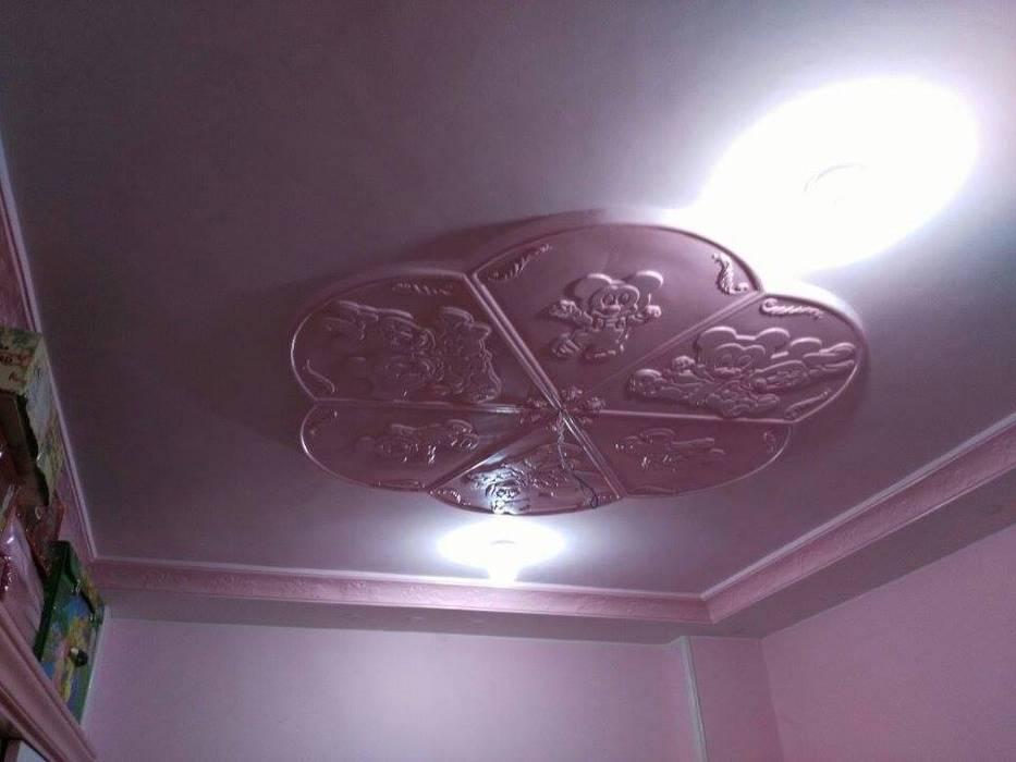 تشطيب شقة بالتجمع الخامس بالقاهرة الجديدة  مع شركة كاسل:  غرفة الاطفال تنفيذ كاسل للإستشارات الهندسية وأعمال الديكور في القاهرة