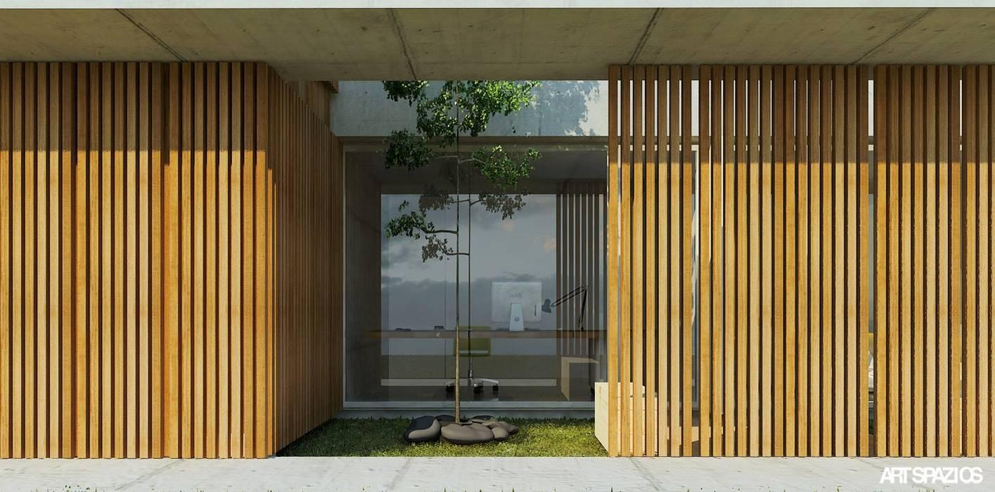 casa AA: Casas  por Artspazios, arquitectos e designers