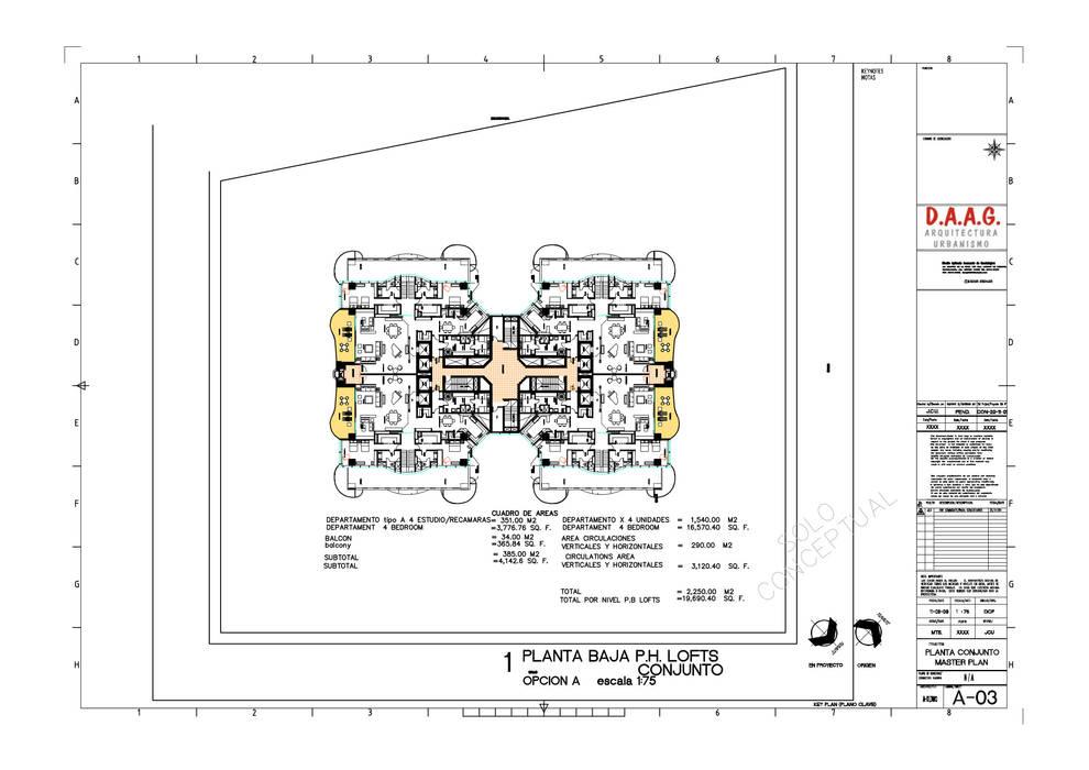 TORRE VISION ALTITTUDE Dormitorios minimalistas de Diseño Aplicado Avanzado de Guadalajara Minimalista