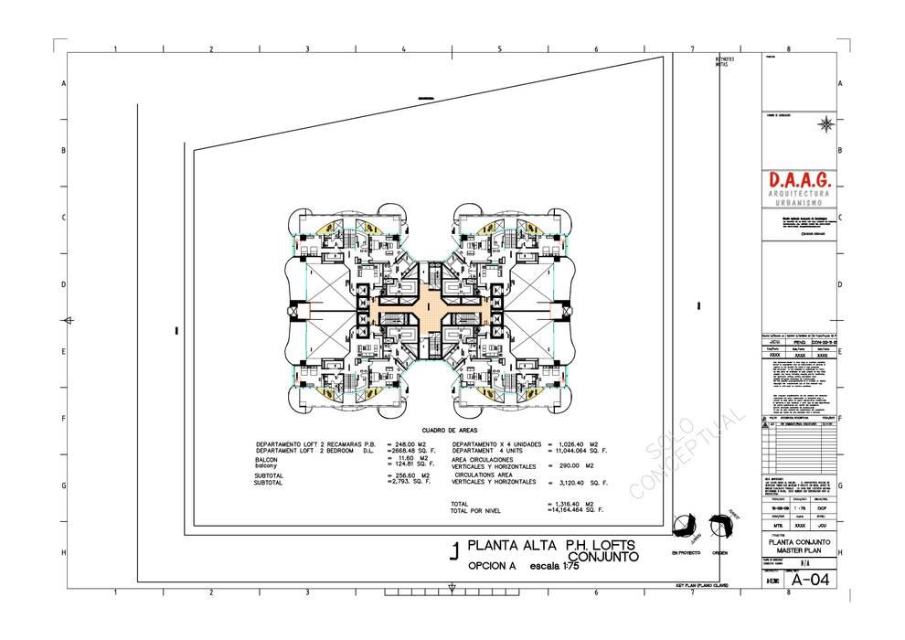 TORRE VISION ALTITTUDE Diseño Aplicado Avanzado de Guadalajara Dormitorios modernos