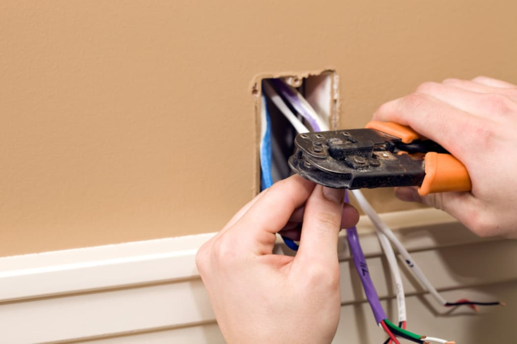 Installing sockets by Electricians Johannesburg