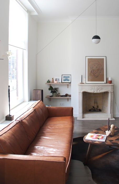 Skandinavische Wohnzimmer von Studio Buijs Skandinavisch