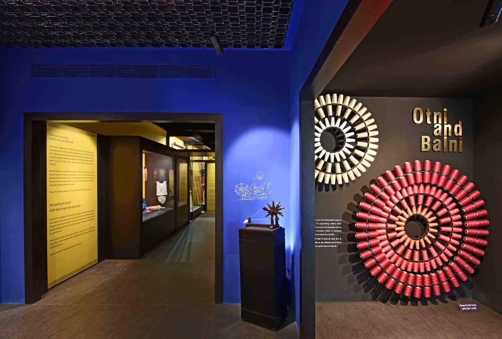 CSMVS MUSEUM, MUMBAI :  Walls by Somaya and Kalappa Consultants