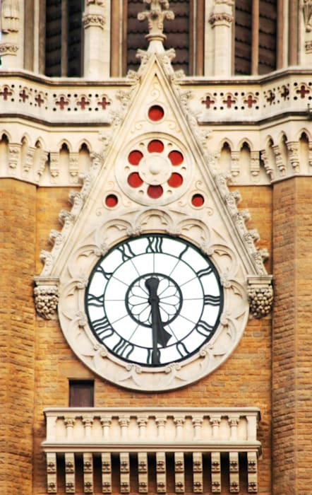 Rajabai Clock Tower Colonial style walls & floors by Somaya and Kalappa Consultants Colonial