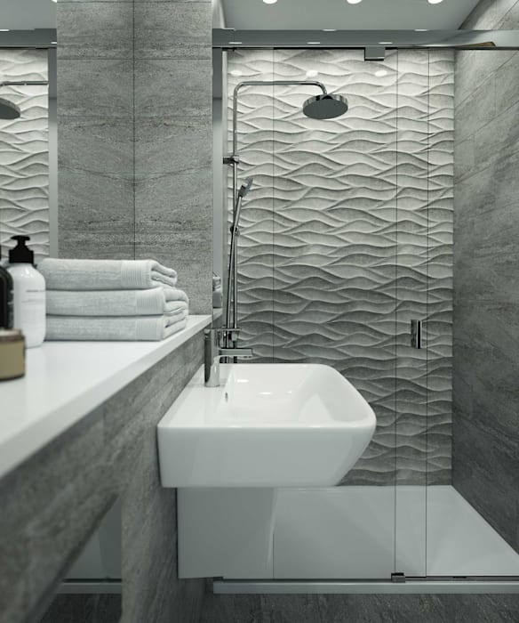 Bathroom CGI Visualisations #4:  Bathroom by White Crow Studios Ltd