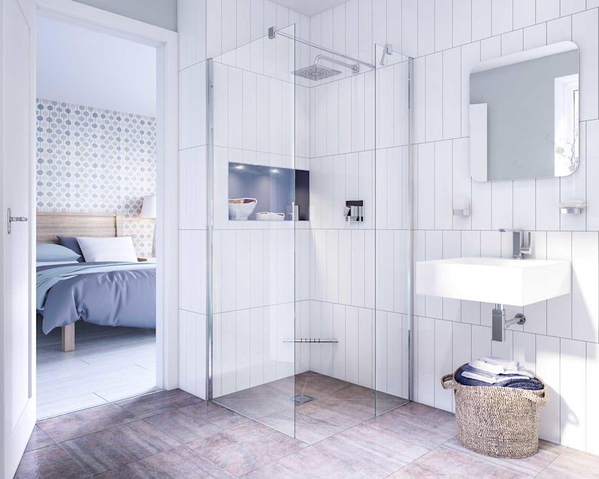 Bathroom CGI Visualisation #6:  Bathroom by White Crow Studios Ltd