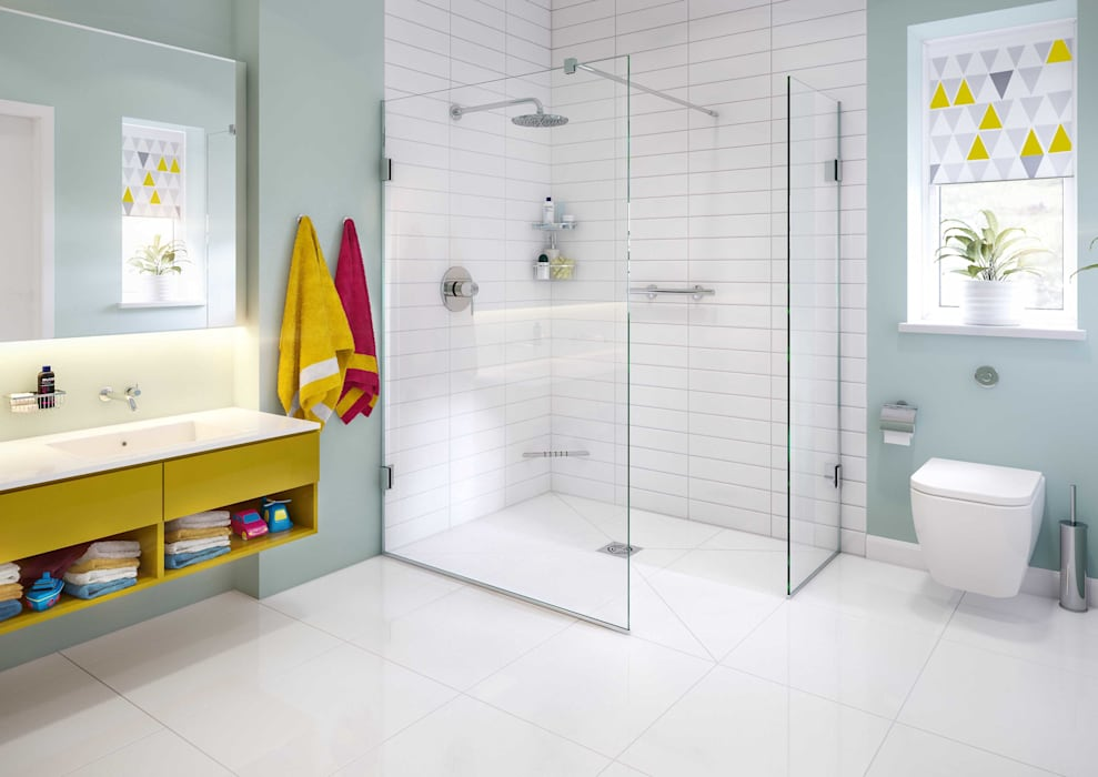 Bathroom CGI Visualisation #8:  Bathroom by White Crow Studios Ltd