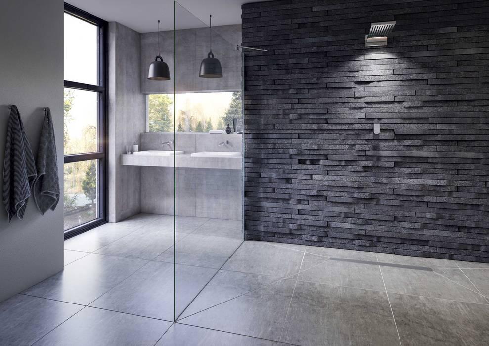 Bathroom CGI Visualisation #9:  Bathroom by White Crow Studios Ltd, Rustic Slate