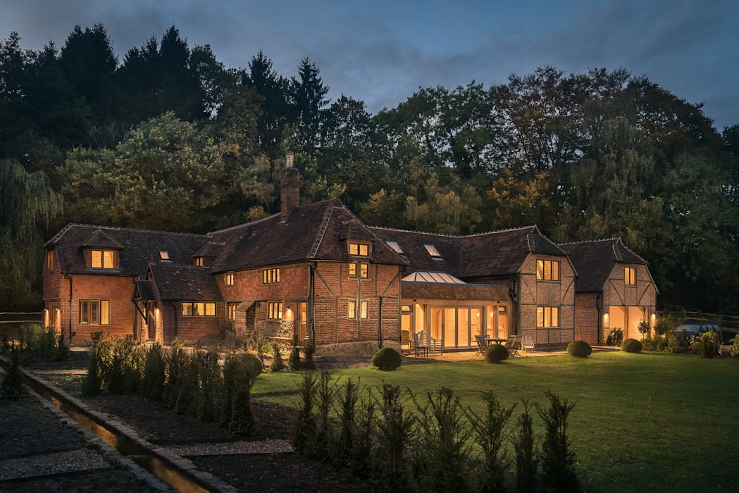 Houses by Mark Hazeldine Photography, Country Bricks