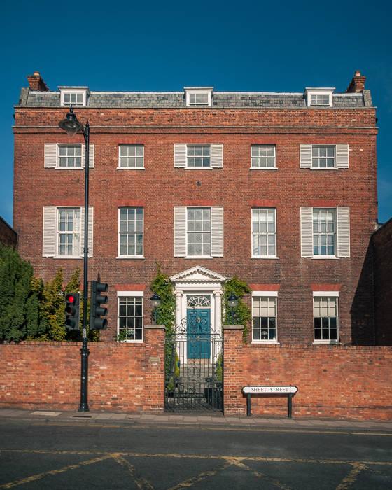 Home exteriors Maisons classiques par Mark Hazeldine Photography Classique Briques