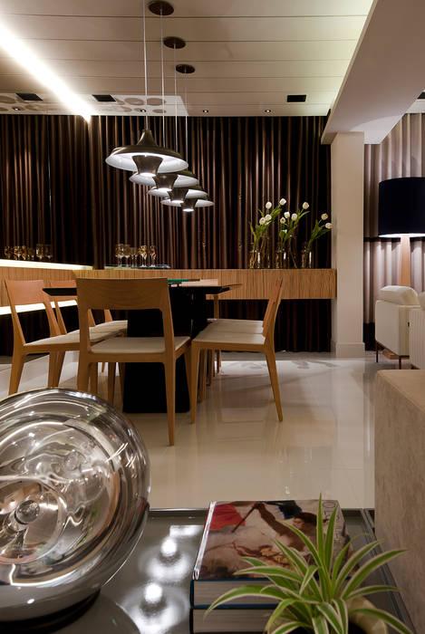 SALA DE JANTAR Matheus Menezes Arquiteto Salas de jantar modernas Bege