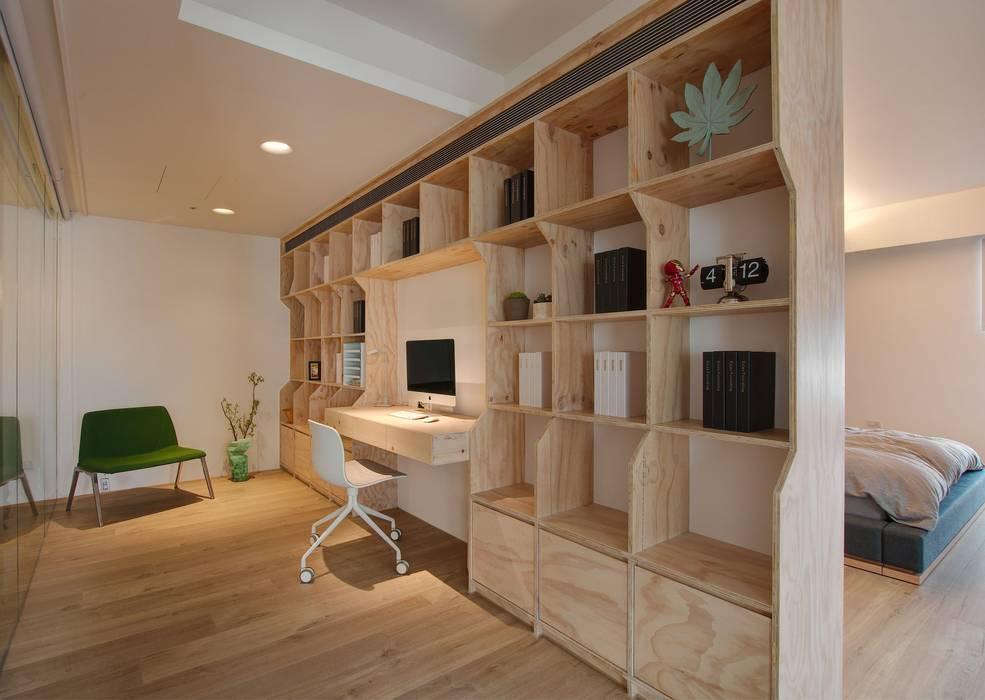 Minimalist study/office by 六相設計 Phase6 Minimalist