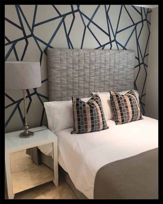 Project * Frans Alexander Interiors Modern style bedroom