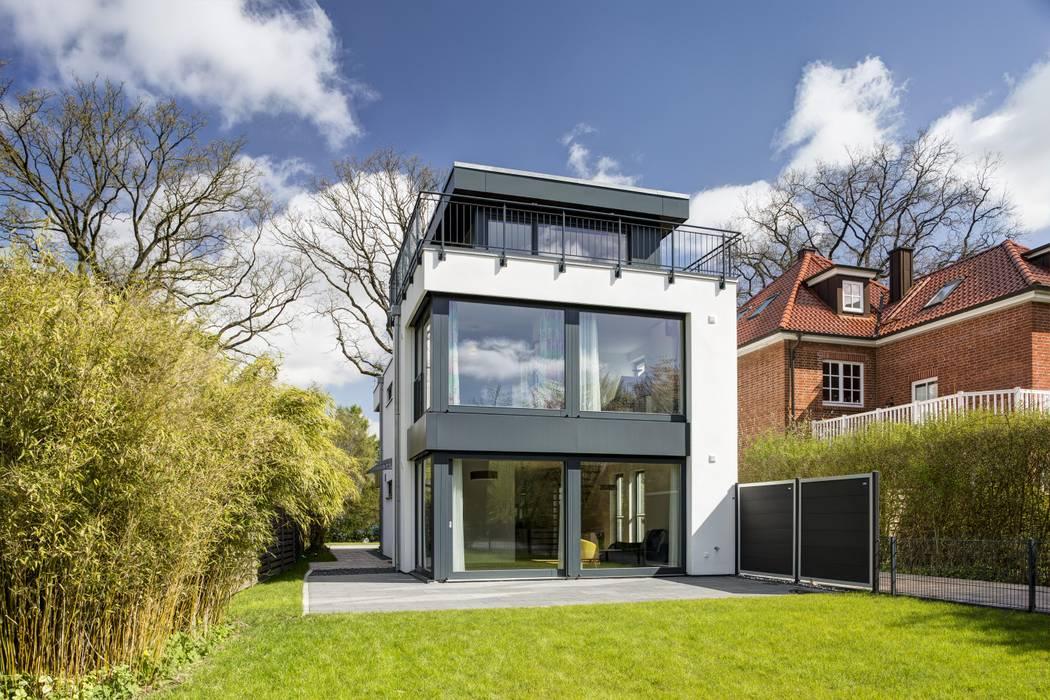 Gartenansicht:  Häuser von Architekturbüro Prell und Partner mbB Architekten und Stadtplaner,