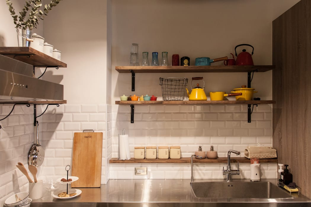 HWH house 珞石設計 LoqStudio 廚房