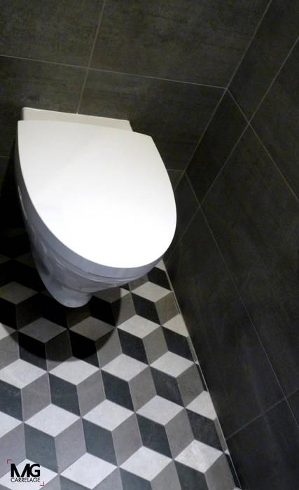 Mg carrelage // habillez vos wc murs & sols modernes par mg ...