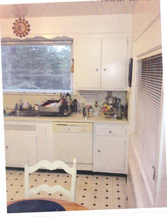 1920's Westchester Tudor Kitchen Redux :  Kitchen by Kitchen Krafter Design/Remodel Showroom