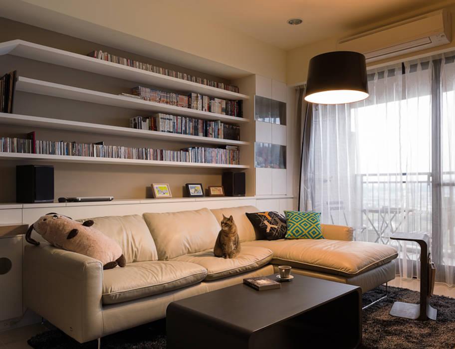 Ruang Keluarga oleh 思維空間設計