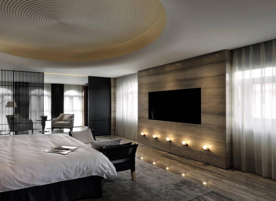 Bedroom by 天坊室內計劃有限公司 TIEN FUN INTERIOR PLANNING CO., LTD., Asian
