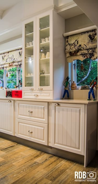 Modern French Provincial Kitchen by Ergo Designer Kitchens and Cabinetry Country MDF