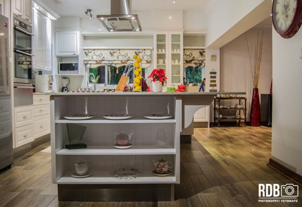 Modern French Provincial Kitchen by Ergo Designer Kitchens Country MDF