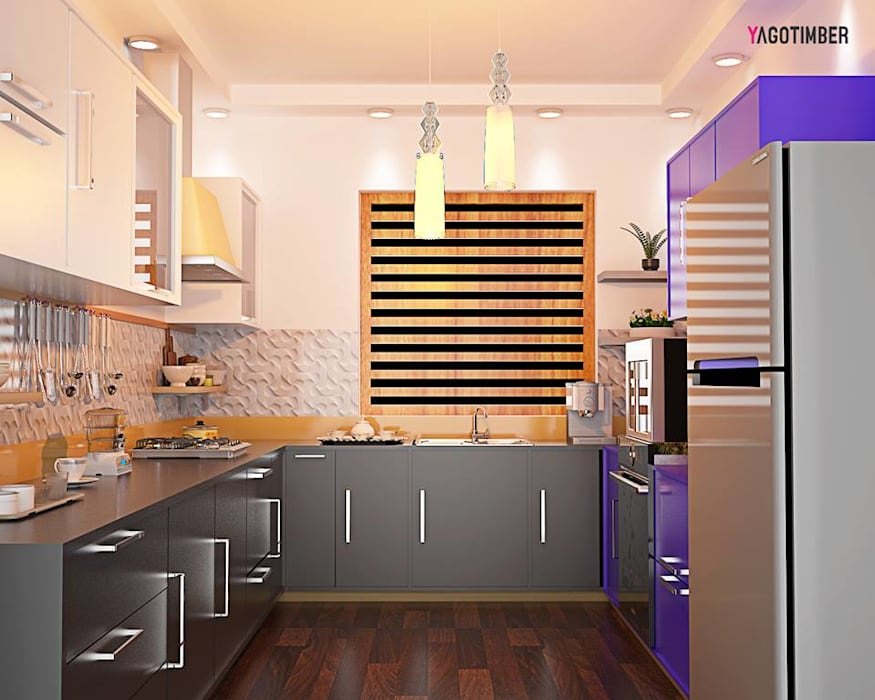 Modular Kitchen 3:  Commercial Spaces by Yagotimber.com,