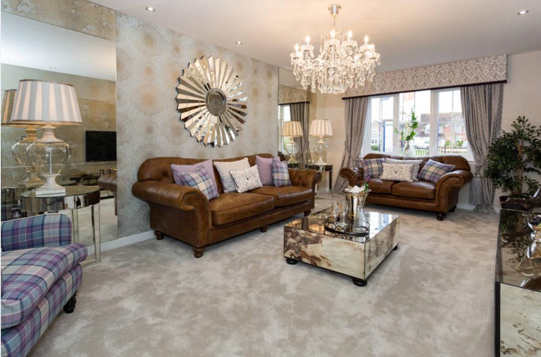 Take a step into luxury each day.. Salones de estilo moderno de Graeme Fuller Design Ltd Moderno