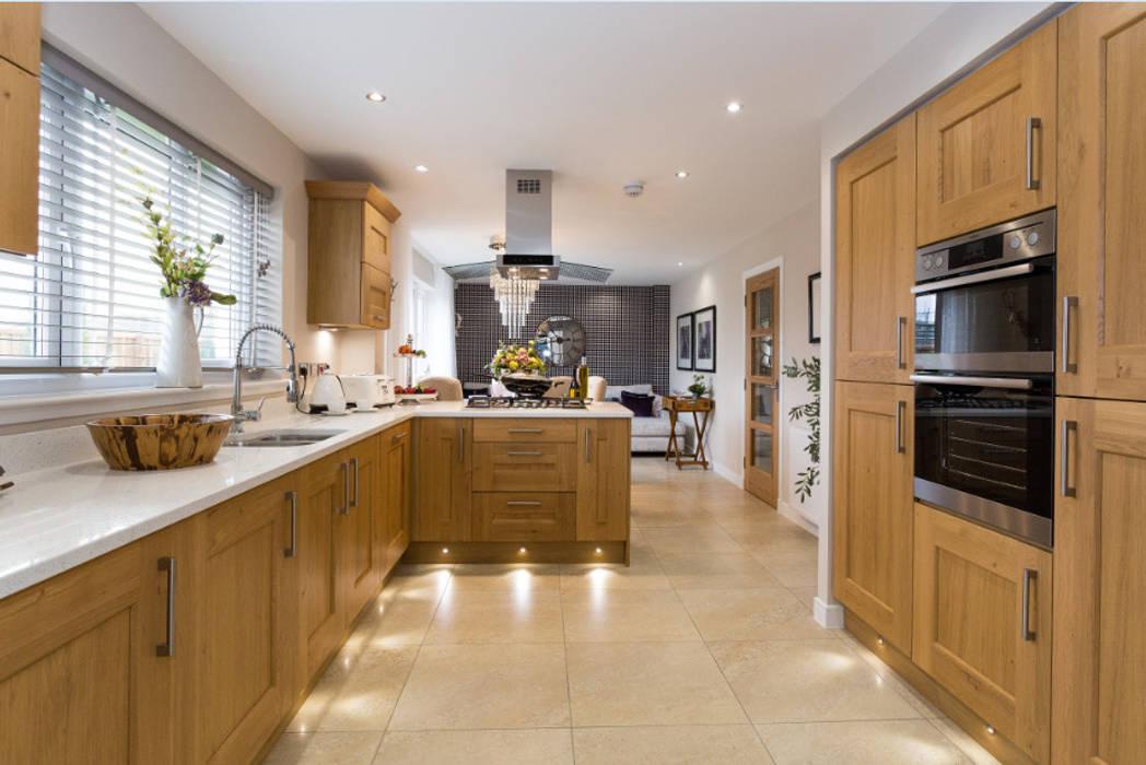 Take a step into luxury each day.. Cocinas de estilo moderno de Graeme Fuller Design Ltd Moderno