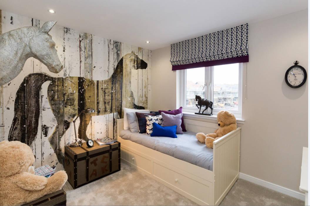 Take a step into luxury each day.. Dormitorios de estilo moderno de Graeme Fuller Design Ltd Moderno
