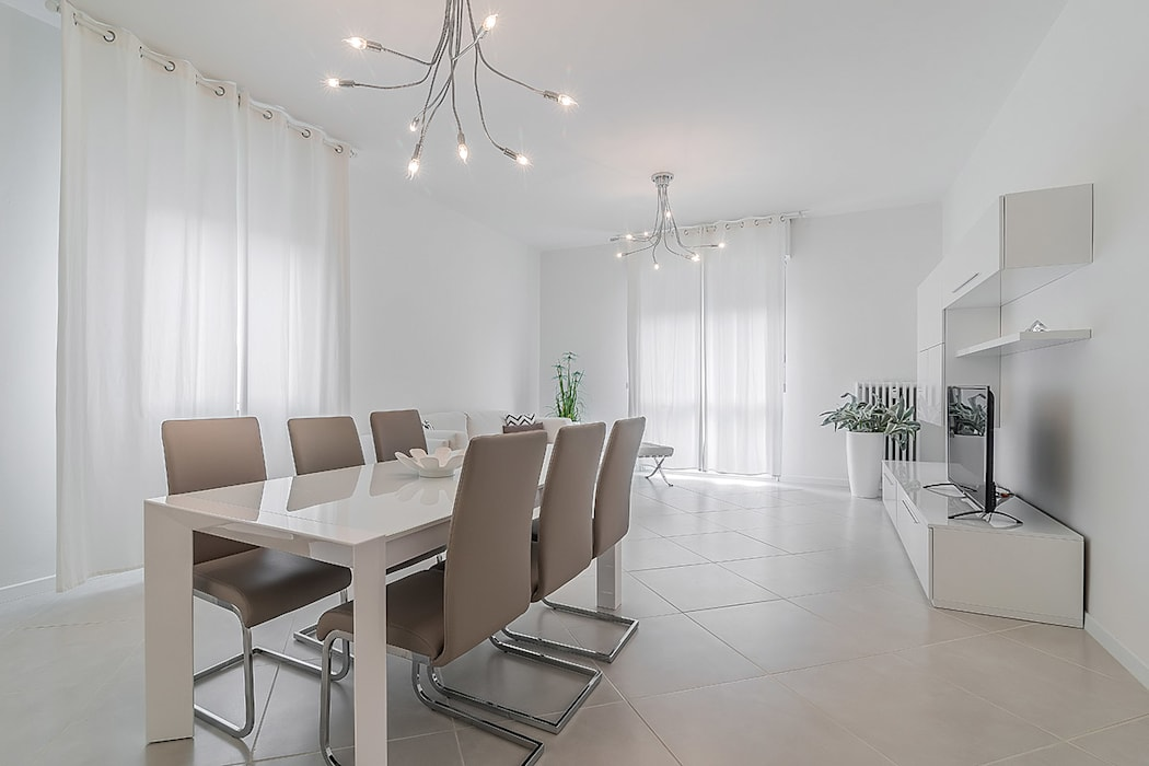 Facile Ristrutturare Minimalist dining room