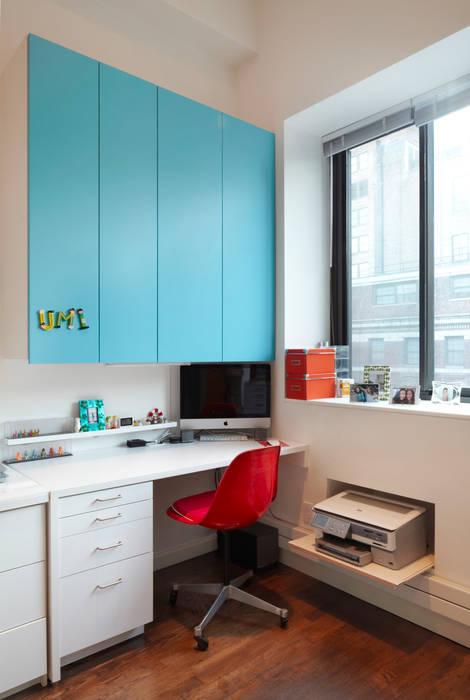 Bento Box Loft, Koko Architecture + Design Koko Architecture + Design اتاق کار و درس Blue