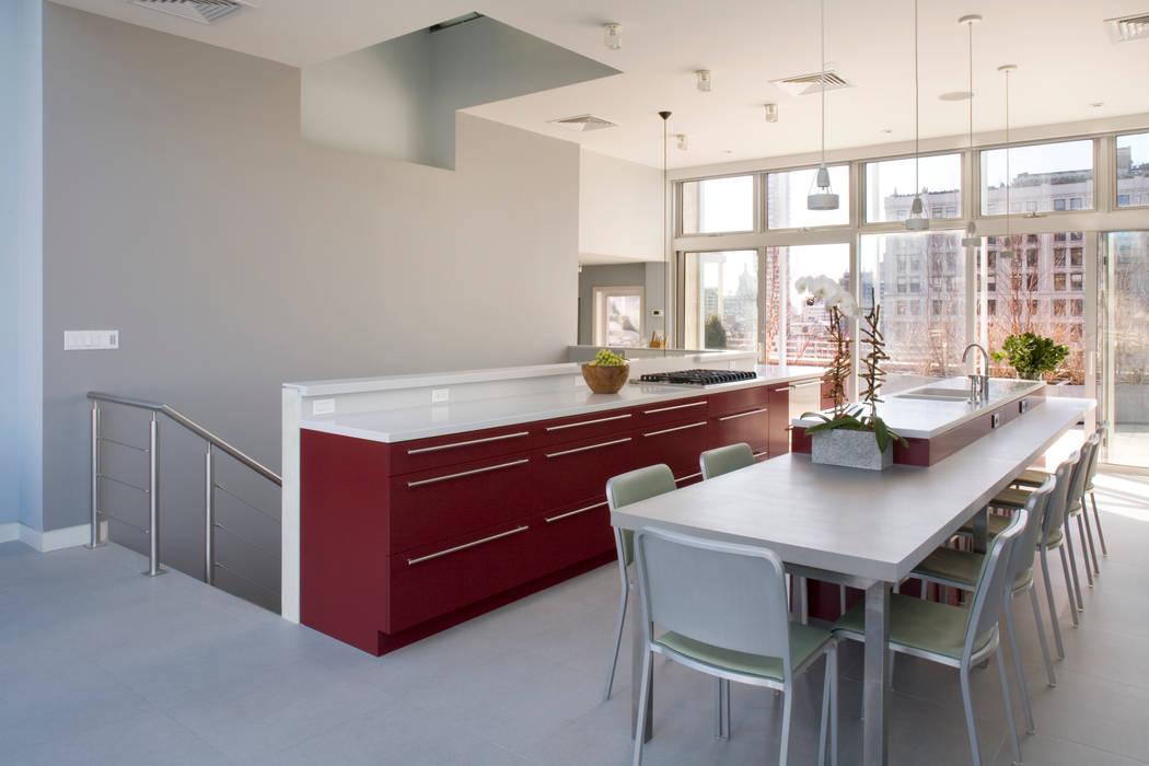 Empire State Loft, Koko Architecture + Design Koko Architecture + Design آشپزخانه