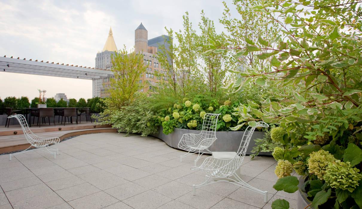 Koko Architecture + Design Balkon, Beranda & Teras Modern