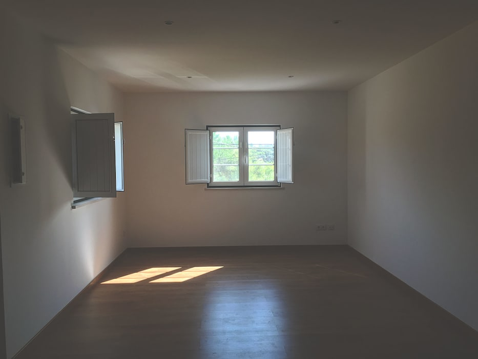 Sala - Depois por HC Construções