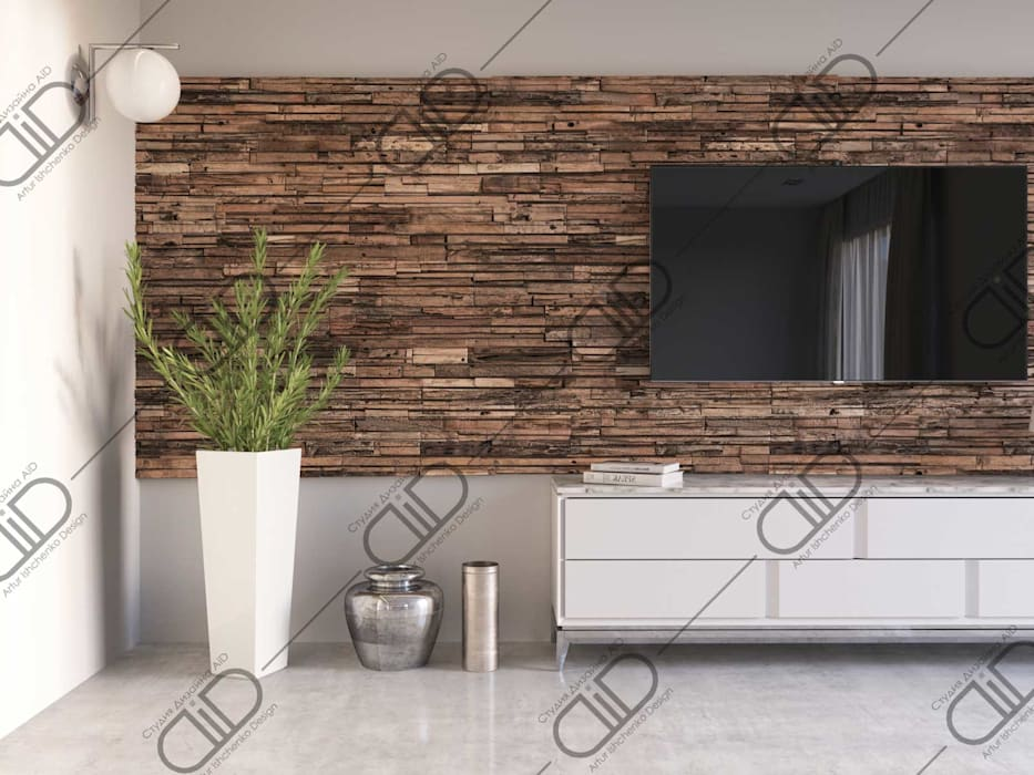 ​Interior Design and Rendering Design Studio AiD Living room Wood Wood effect