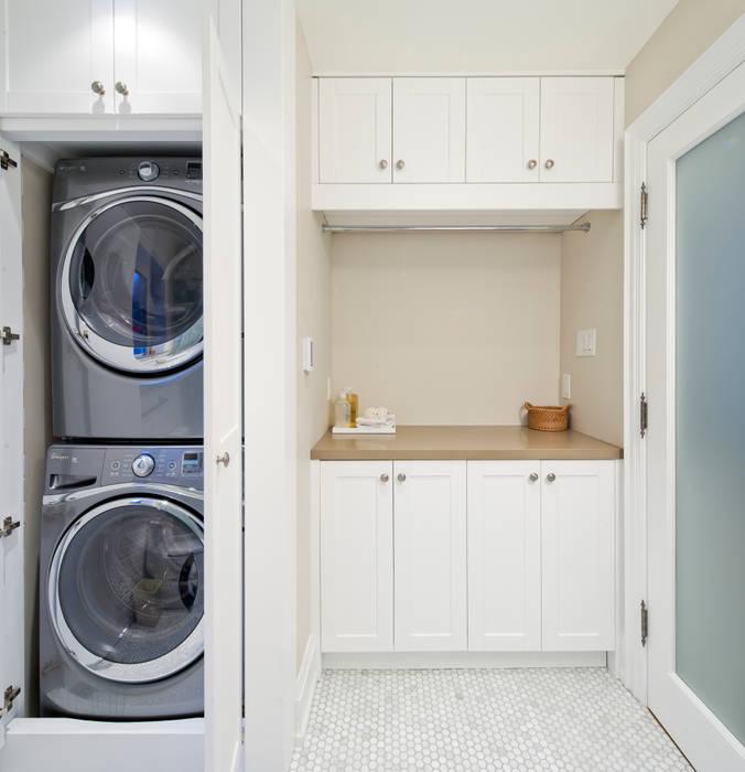 Laundry - Custom Cabinets Modern bathroom by STUDIO Z Modern