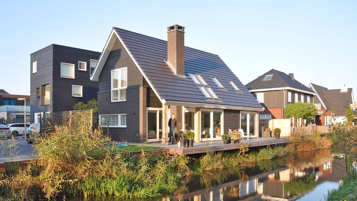 Eigentijdse woning Den-Haag:  Huizen door Bongers Architecten,