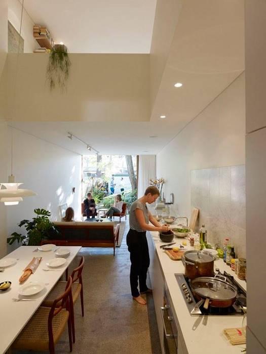 Salle à manger de style  par Casa Container Brasil, Moderne