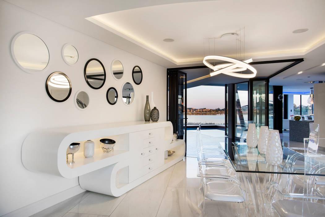 Salle à manger de style  par FRANCOIS MARAIS ARCHITECTS, Moderne