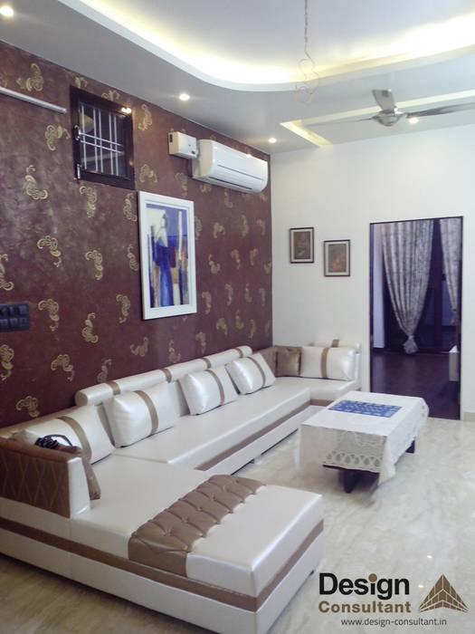 Living Area homify Modern living room Wood