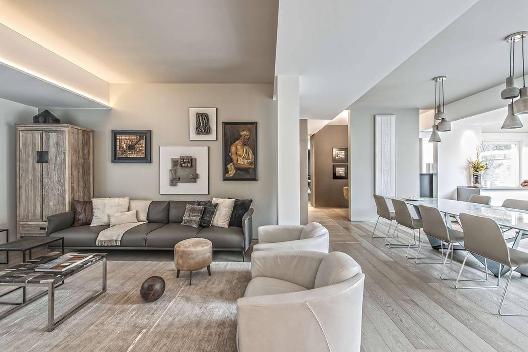 Contemporaneo: soggiorno in stile di brando concept | homify
