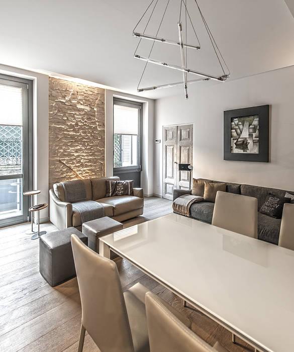 Salon moderne par BRANDO concept Moderne