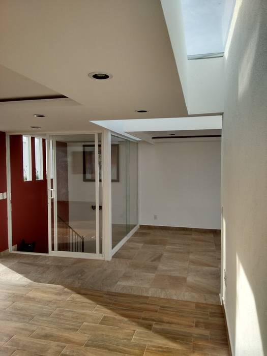 DOMOS EN AREA DE ESTAR Arqca Pasillos, vestíbulos y escaleras modernos