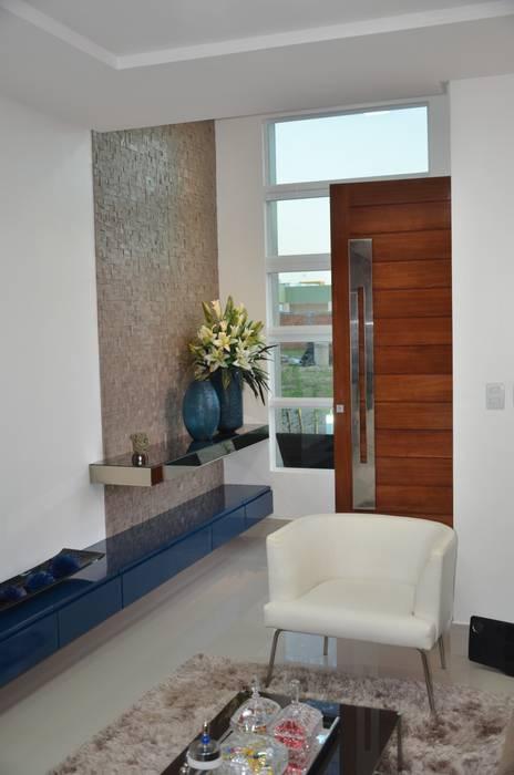 Salones de estilo  de Cris Nunes Arquiteta,
