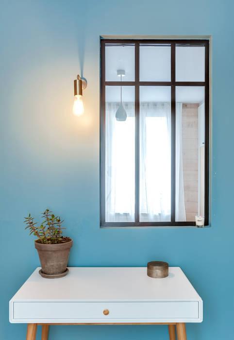 Chambre d\'amis-bureau: bureau de style de style scandinave par ld&co ...