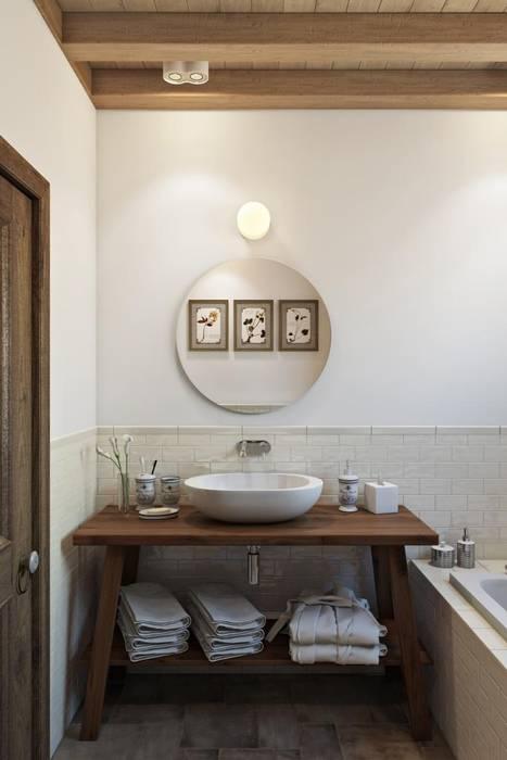 Дизайн студия Алёны Чекалиной Country style bathroom