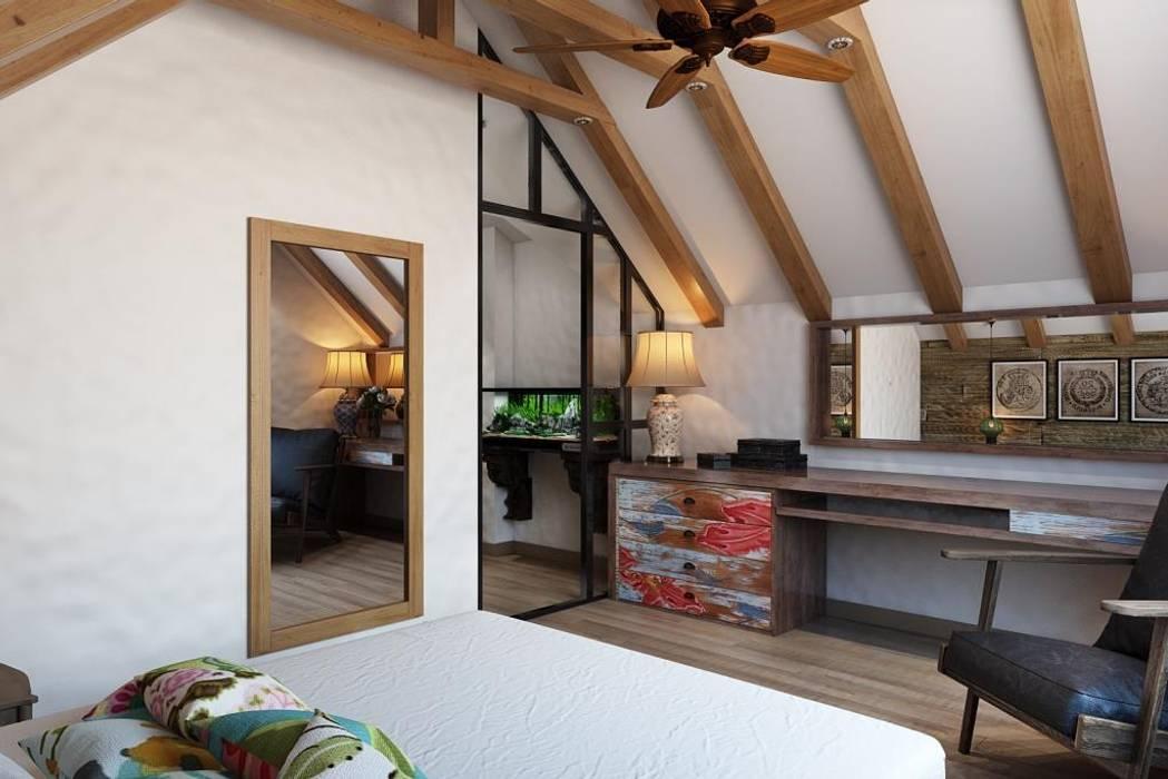 Дизайн студия Алёны Чекалиной Country style bedroom