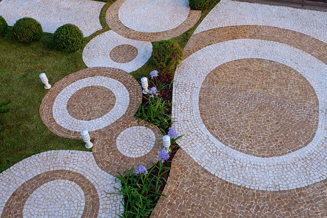 Casa Villa Lobos Jardins modernos por Arquiteto Aquiles Nícolas Kílaris Moderno